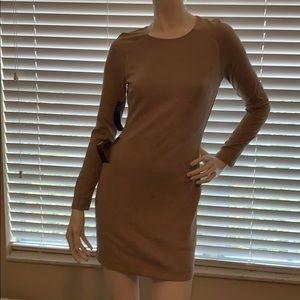 Bebe suede dress